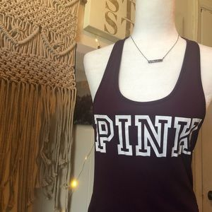 PINK Victoria's Secret purple tank top